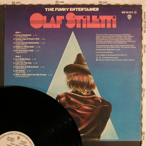 Stiletti,Olaf: More From The Funky Entertainer, WB, Musterplatte(WB 56 073), D, 1974 - LP - X4411 - 9,00 Euro