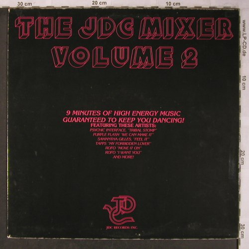 V.A.The JDC Mixer Vol.2: Psychic Interface..Rofo, 33rpm, JDC Record Inc.(JDC0045), US,  - 12inch - X5146 - 5,00 Euro
