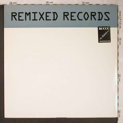 V.A.Remixed Records: Jellybean...Varous(mix), Remixed Re(RR17), S, 1986 - 2LP - X5258 - 7,50 Euro