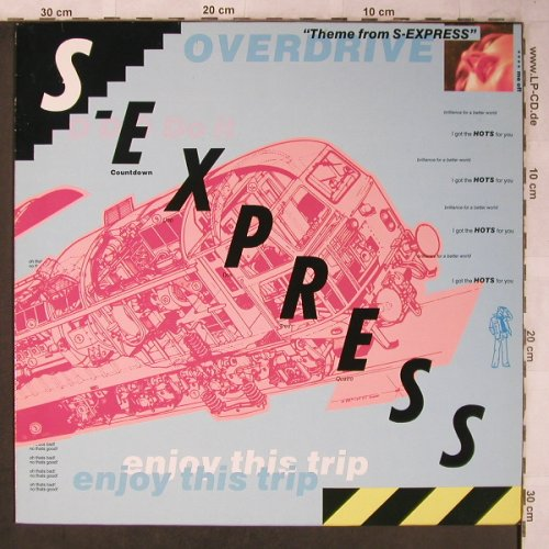 S-Express: Theme From S-Express/The Trip, Rhythm King(LEFT 21T), D, 1988 - 12inch - X5277 - 4,00 Euro