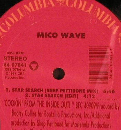 Mico Wave: Star Search*4 rmx Sheep Pettibone, Columbia(44 07841), US, 1987 - 12inch - X5480 - 6,50 Euro