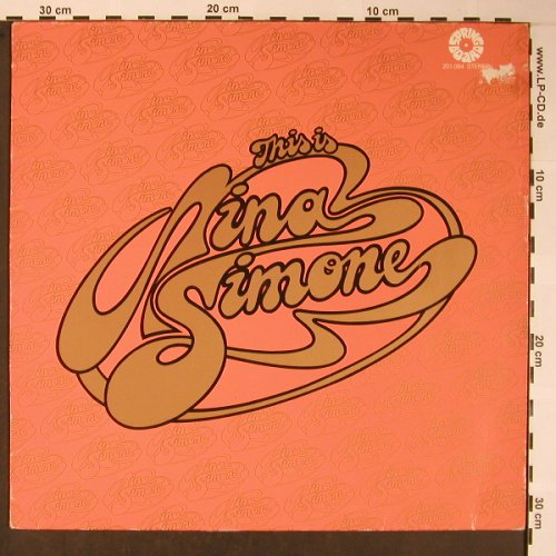 Simone,Nina: This is, Live, m-/vg+, 2001(201 084), D, Ri, 1975 - LP - X5861 - 6,00 Euro