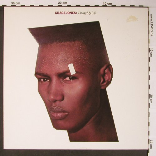 Jones,Grace: Living My Life, m-/vg+, Island(204 753-320), D, 1982 - LP - X5919 - 5,00 Euro