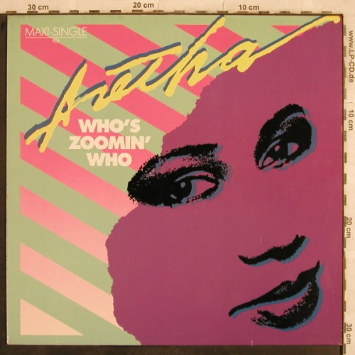 Franklin,Aretha: Who's Zoomin'Who*3, Arista(602 090-213), D, 1985 - 12inch - X607 - 2,50 Euro