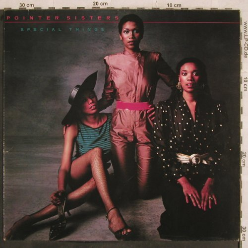 Pointer Sisters: Special Things, Planet(PL 52 242), D, Ri, 1980 - LP - X608 - 4,00 Euro