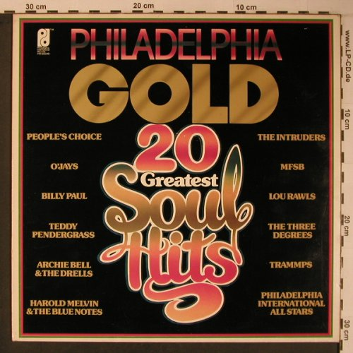 V.A.Philadelphia Gold: 20 Greatest Soul Hits, Philadelphia Intern.Rec.(PIR 86049), NL, 1978 - LP - X6251 - 9,00 Euro
