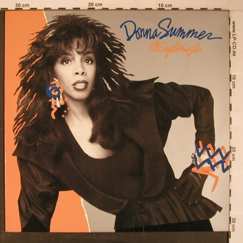 Summer,Donna: All Systems Go, WEA(252 953-1), D, 1987 - LP - X6489 - 9,00 Euro