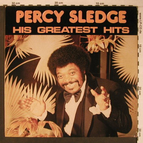 Sledge,Percy: His Greatest Hits, Bellaphon(220 07 076), D, 1982 - LP - X6621 - 9,00 Euro