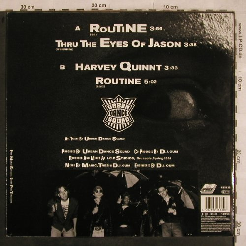 Urban Dance Squad: Routine*2/Harvey Quin/+1, Arista(), D, 1991 - 12inch - X765 - 2,50 Euro