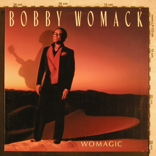Womack,Bobby: Womagic, MCA(5899), US, co, 1986 - LP - X770 - 4,00 Euro