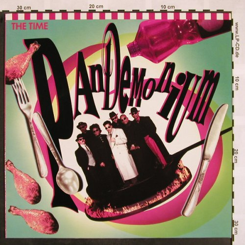 The Time: Pandemonium, Paisley Park(7599-27490-1), D, 1990 - LP - X802 - 6,00 Euro
