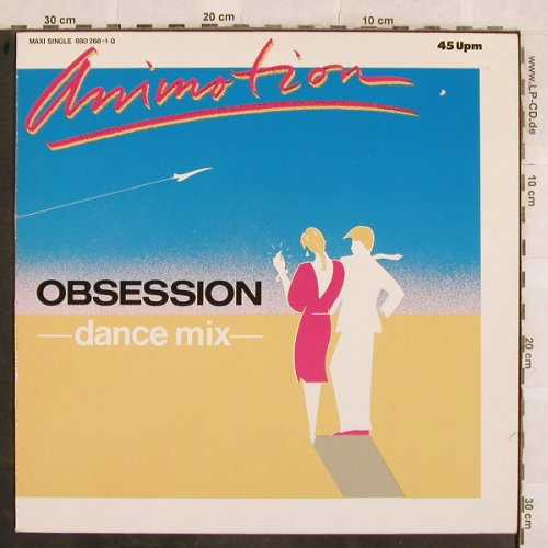 Animotion: Obsession*2, Dance Mix , 6:00, Mercury(880 266-1 Q), D, 1984 - 12inch - X82 - 2,50 Euro