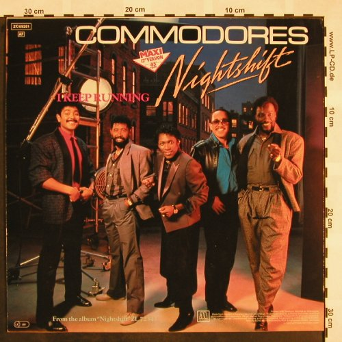 Commodores: Nightshift+1, Motown(ZC69281), D, 1984 - 12inch - X849 - 3,00 Euro
