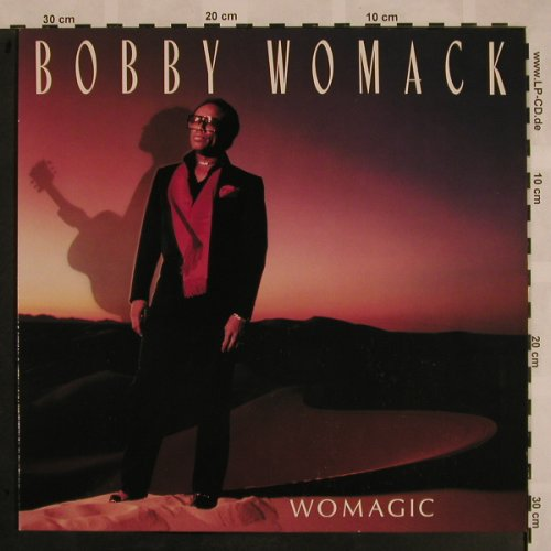 Womack,Bobby: Womagic, MCA(254 466-1), D, 1986 - LP - X996 - 5,00 Euro
