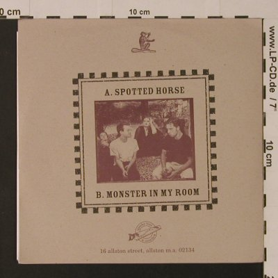 Moses: Monster In My Room / Spotted Horse, Spooky Tree Records(), US, 1995 - 7inch - S7526 - 4,00 Euro