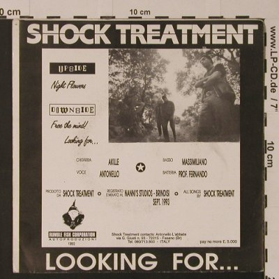 Shock Treatment: Looking For..., Rumble Fish Corporation(), I, 1993 - EP - S7528 - 4,00 Euro