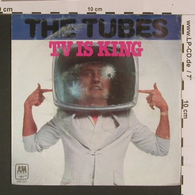 Tubes: TV is King, vg-/vg+, AM(AMS 7611), D, 1979 - 7inch - S7855 - 1,50 Euro