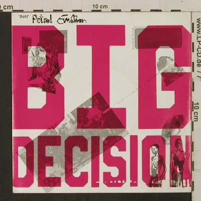 That Petrol Emotion: Big Decision / Soul Deep, Polydor(885 709-7), D, 1987 - 7inch - T2320 - 2,50 Euro