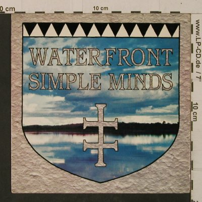 Simple Minds: Waterfront / Hunter And The Hunted, Virgin(VS636), UK, 1983 - 7inch - T2590 - 4,00 Euro