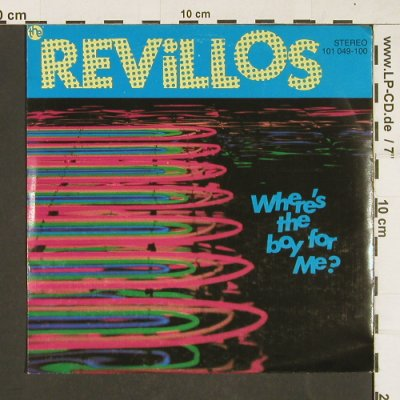 Revillos: Where's the boy for me?, Virgin(101 049), D, 1979 - 7inch - T34 - 6,00 Euro