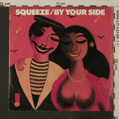 Squeeze: By your side, m-/vg+, AM(390 052-7), D, 1985 - 7inch - T3581 - 2,50 Euro
