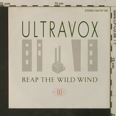 Ultravox: Reap The Wild Wind / Hosanna, Chrysalis(104 757-100), D, 1982 - 7inch - T3588 - 2,50 Euro