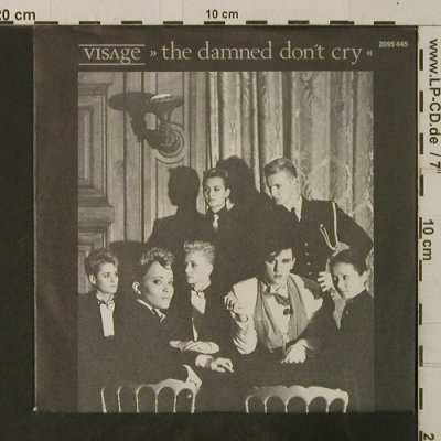 Visage: The damned don't cry/Motivation, Polydor(2095 445), D, 1982 - 7inch - T3632 - 2,50 Euro
