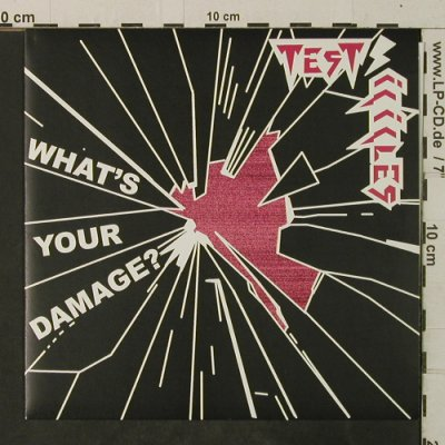 Test Icicles: What's your damage/Catch It, Domino(RUG217X), UK, 2005 - 7inch - T3750 - 4,00 Euro