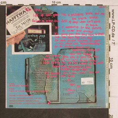 Threee Johns: Never and Always, Abstract Records(ABS 043), F, 1987 - 7inch - T5154 - 3,00 Euro