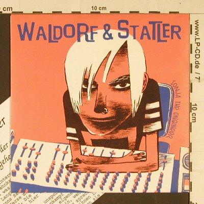 Waldorf & Statler: Sonja the Engineer,colourVinyl, (), D, 1996 - 7inch - T656 - 5,00 Euro