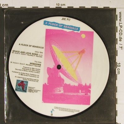 "A Flock of Seagulls: Space Age Love Song / Windows, Jive(P17), D, 1982 - P7"" - T865 - 4,00 Euro"