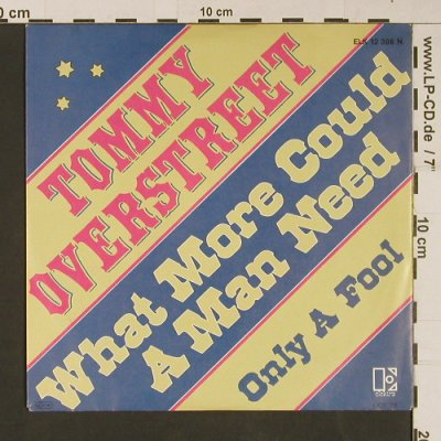 Overstreet,Tommy: What more could a man need, Elektra(ELK 12 386 N), D, 1979 - 7inch - S9269 - 3,00 Euro