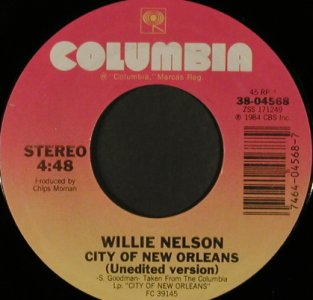 Nelson,Willie: Why are you pick'in on me/CityNOrl., Columbia(38-04568), US,NoCover, 1984 - 7inch - T1174 - 3,00 Euro