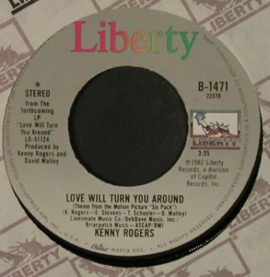 Rogers,Kenny: I Want A Son/LoveWill TurnYouAround, Liberty(B-1471), US, FLC, 1982 - 7inch - T2335 - 3,00 Euro