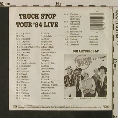 Truck Stop: Wir sind die Cowboys, Metronome(821 450-7), D, 1984 - 7inch - T3583 - 2,50 Euro