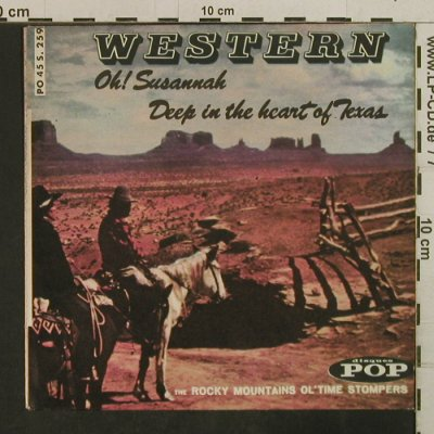 Rocky Mountains Ol'Time Stompers: Oh!Susannah - (only cover), Disques Pop(45S.259), F,  - Cover - T3811 - 1,00 Euro