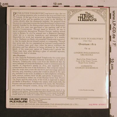 Tschaikowsky,Peter: Ouverture 1812, op. 49, Music Master(MM 30004), UK,33rpm, 1970 - EP - T4388 - 4,00 Euro