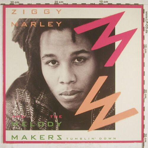 Marley,Ziggy and the Melody Maker: Tumblin' down, Virgin(611 623-213), D, 88 - 12inch - A9690 - 4,00 Euro