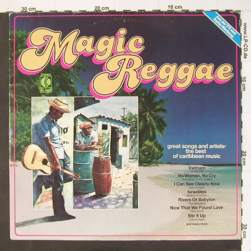 V.A.Magic Reggae: Johnny Nash ...Bob Marley, 16 Tr., K-TEL(TG 1220), D, 1979 - LP - B9685 - 4,00 Euro
