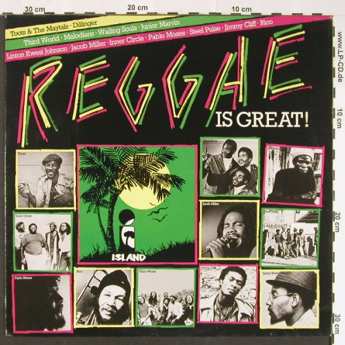 V.A.Reggae is Great !: 13 Tr., Island(202 828-320), D, 1980 - LP - C8890 - 5,00 Euro