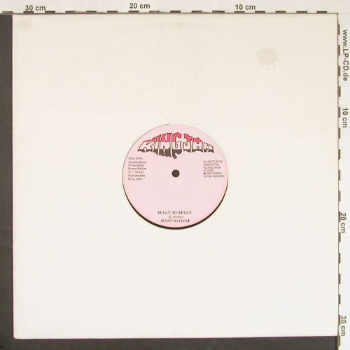 Mallone,Bugsy: Belly To Belly, LC, King Jam(12KJ 089), UK,  - 12inch - E18 - 5,00 Euro