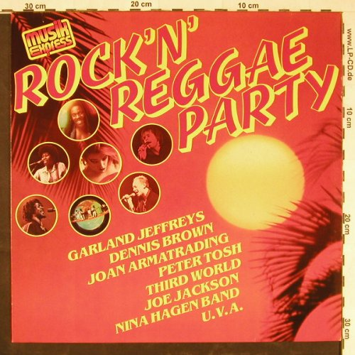 V.A.Rock'N'Reggae Party: G.Jeffreys...Nina Hagen Band,14 Tr., CBS(85 071), NL, 1981 - LP - E2114 - 5,00 Euro