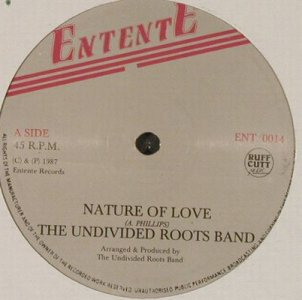 Undivided Roots Band: Dance Tonite, Entente(ENT 0014), UK, 1987 - 12inch - E27 - 4,00 Euro