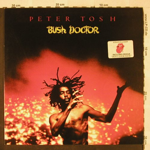 Tosh,Peter: Bush Doctor,(Scrat & Sniff Sticker), RS(064-61 708), D, 1978 - LP - H3345 - 20,00 Euro