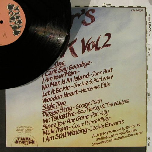 V.A.Raver's Rock Vol.2: John Holt...Jackie Edwards, m-/vg+, Vista Sound(VSLP 4037), UK, 1984 - LP - H4900 - 6,00 Euro