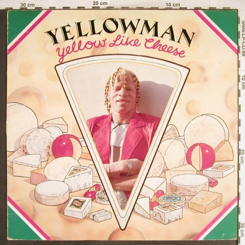 Yellowman: Yellow Like Cheese, vg+/vg+, RAS(RAS 3019), UK, 1987 - LP - H6818 - 7,50 Euro