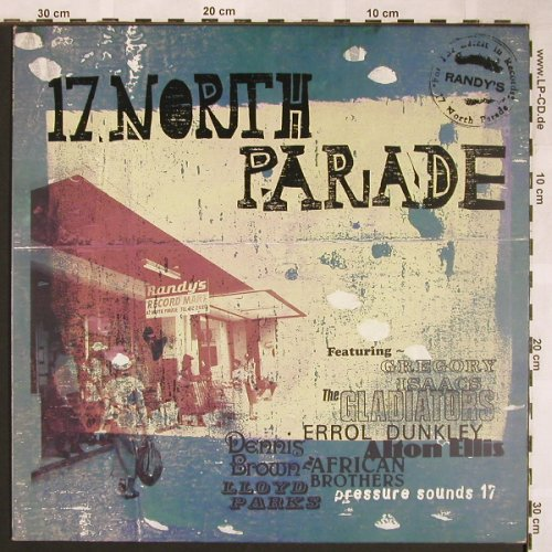 V.A.Randy's 17.North Parade: Broadway...Black Uhuru, <vg+/m-, Pressure Sound(PSLP17/18777-1), UK, 1997 - LP - X1562 - 12,50 Euro