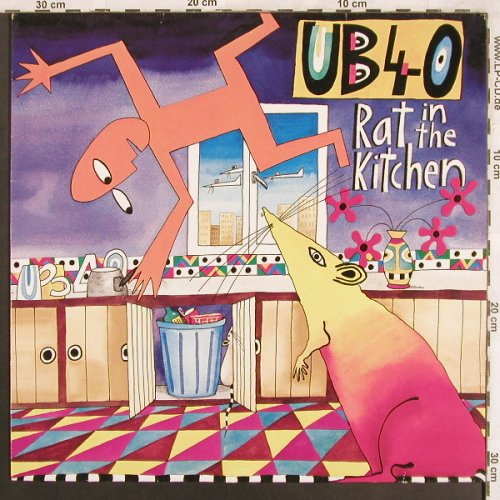 UB 40: Rat In The Kitchen, Virgin(207 841-630), D, 1986 - LP - X3733 - 5,50 Euro