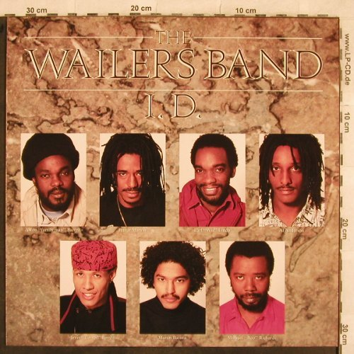 Wailers Band: I.D., Atlantic(781 690-1), D, 1989 - LP - X421 - 5,00 Euro