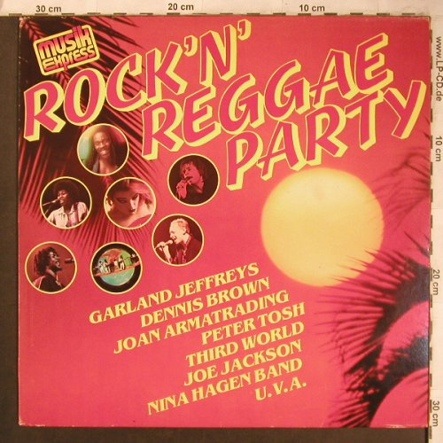 V.A.Rock'n' Reggae Party: Garland Jeffreys...Nina Hagen Band, CBS(CBS 85 071), NL,m-/vg+, 1981 - LP - X4559 - 5,50 Euro